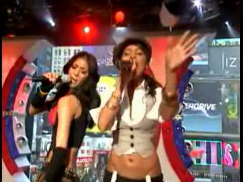 The Pussycat Dolls- Buttons Live  Trl video