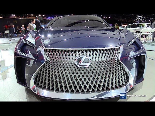 2017 Lexus LF-FC Concept - Exterior Walkaround - 2016 ...
