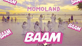 [KPOP IN PUBLIC - AO DAI VER]  BAAM - MOMOLAND(모모랜드) Dance cover By Oops! Crew From Vietnam