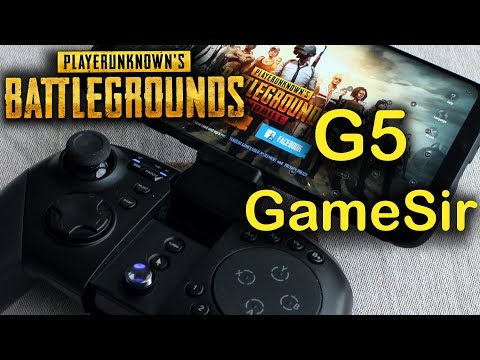 PUBG Mobile with GameSir G5 controller