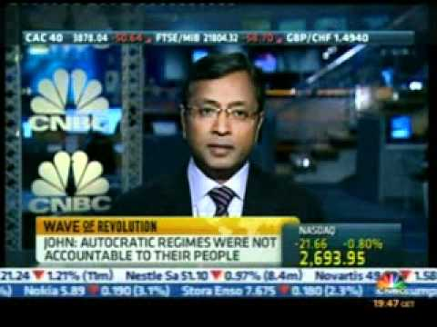 Sunil John interview on CNBC: 2010 Arab Youth Survey
