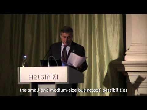 European Design Innovation Summit 2012 opening by Mr. Antonio Tajani, European Commission