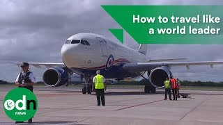 How to travel like a world leader