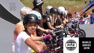 WOMEN'S BMX PARK FINALS!! - FISE WORLD EDMONTON 2018