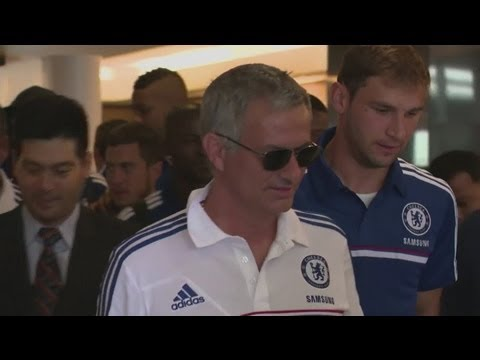 Chelsea arrive in Bangkok for tour of Asia