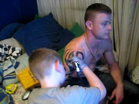 12 year old tattoos his old man