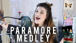 Paramore Medley - 22 PARAMORE SONGS!!! - | Christina Rotondo Cover