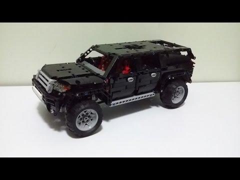 Инструкция Lego Technic Suv Mk2