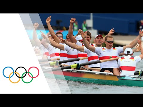 Germany Win Men's Eight Rowing Gold   London 2012 Olympics