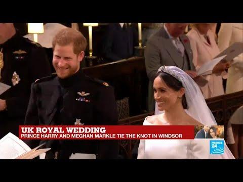 UK Royal Wedding: Prince Harry and Meghan Markle say
