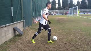 Primavera 2, 1^ Rit: Brescia-Parma, 39' st fallo su Kasa punizione Camara parata