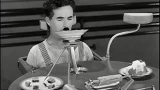 Comedy video of Charlie Chaplin