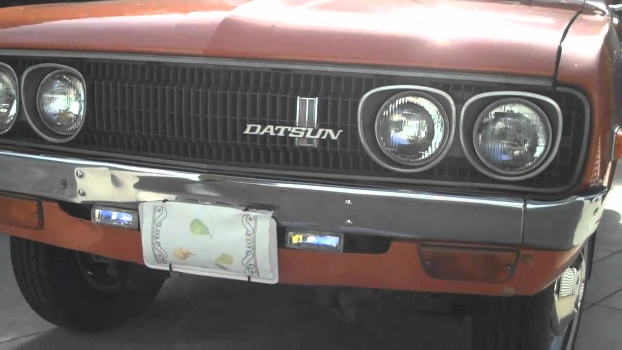 Stock Datsun 620 Pick Up Walk Around - YouTube