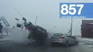 Car Crashes Compilation 857 - January 2017
