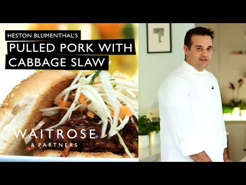Heston's pulled pork with cabbage slaw – Waitrose