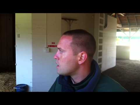 Kentucky Derby - Chad Brown discusses Normandy Invasion
