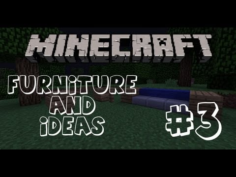 Minecraft Furniture: #3 How to make a Chair