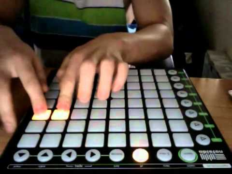 New DJ Technique with Novation Launchpad (2012)