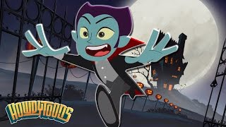 Halloween Song | Walking in the Night | Halloween Songs for Children by Howdytoons