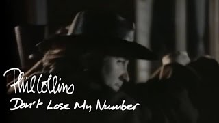 Watch Phil Collins Dont Lose My Number video