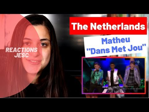 Reaction: The Netherlands (Junior Eurovision 2019)