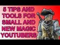 5 Tips and Free Tools for Small/New MTG YouTubers! MP3