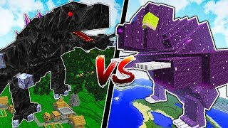 MINECRAFT ORESPAWN BOSSES vs MINECRAFT MYTHICAL CREATURES!!