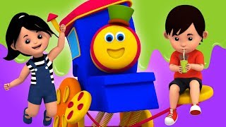 Action Song | Learning Street With Bob The Train | Educational Videos For Toddlers by Kids Tv