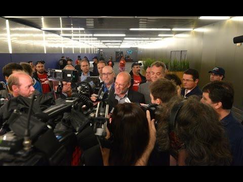 Manifestation et point de presse de la Coalition - Le 16 octobre 2014