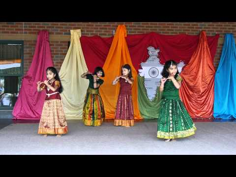Mukunda Mukunda Kids Dance - India Festival 2011, Olean Ny - Gh2 video