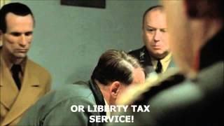 Hitler Gets Angry with H&R Block