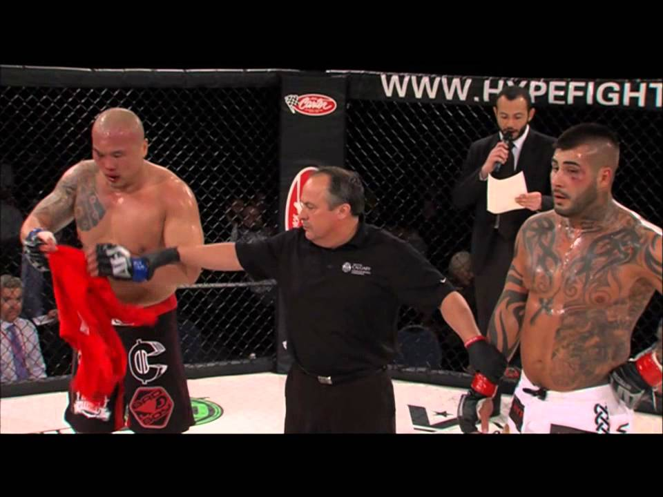 AFC 12 Domination Ryan Hunter vs Paul Cheng - YouTube