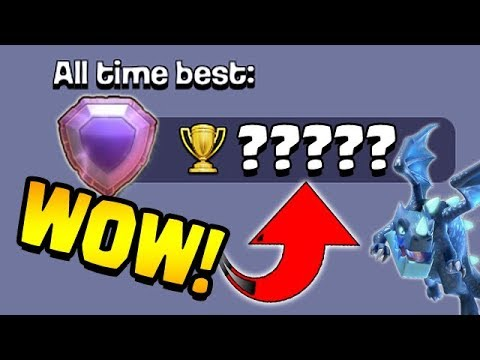 WE BROKE A RECORD!  SMASHED!  TH12 Trophy Push to 7000   Clash of Clans