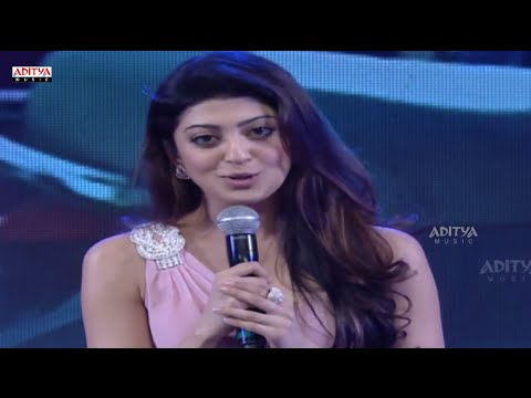 Praneetha Speech - Rabasa Audio Launch Live - Jr NTR, Samantha, Pranitha - Rabhasa