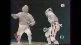 JO Sydney 2000 - SH finale Gourdain (FRA) vs Covaliu (ROM)