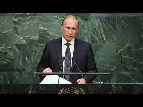 Putin Talks Ukraine Cease-Fire as Syria Strikes Continue