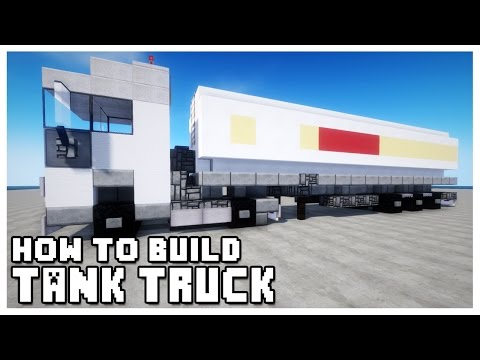 ► Minecraft : How to Make - Tank Truck