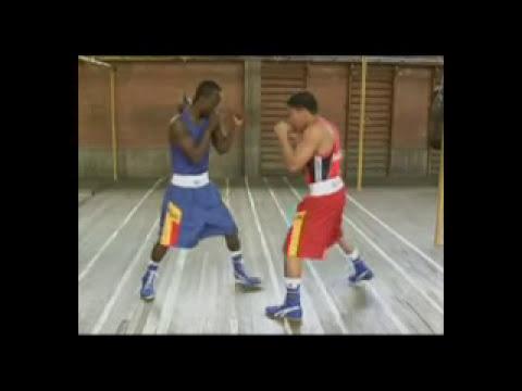 Boxeo - Ejemplos de contraataque de riposta izquierda a la cara