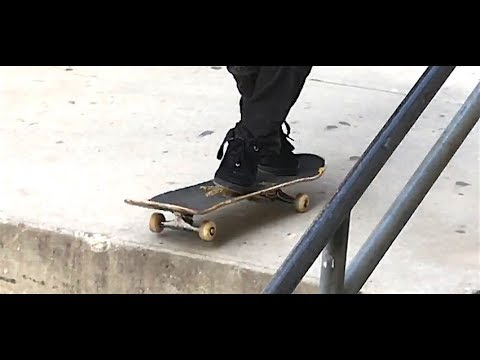 CARLOS LASTRA - IMPOSSIBLE CROSS FOOTED OLLIE DOWN 3 BLOCK - CLIP OF THE DAY