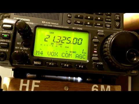 Icom 706 with the Gap Vertical