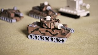 Lego WW2 mini TIGER 1 instructions