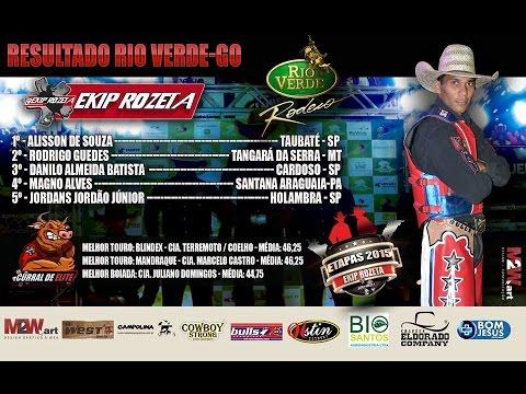 Final Do Rodeio De Rio Verde - GO - 2015