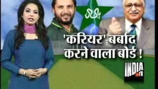 Afridi Quits International Cricket; Slams PCB