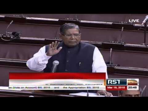 Comments of Sh. K Rahman Khan in Discussion on the Budget (General) 2015-16