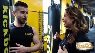 KTU's Carolina Bermudez cross trains at CKO Kickboxing in Hoboken, NJ