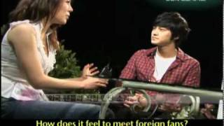 Entertainment Weekly - World Date with Kim Beom [English Subtitle]
