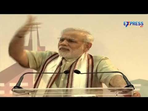 PM Narendra Modi addresses Indian Community at Dubai - Express TV