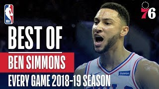Ben Simmons's Best Play From Every Game Of The 2018-19 Season