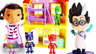 PJ MASKS Get Scared By Romeo