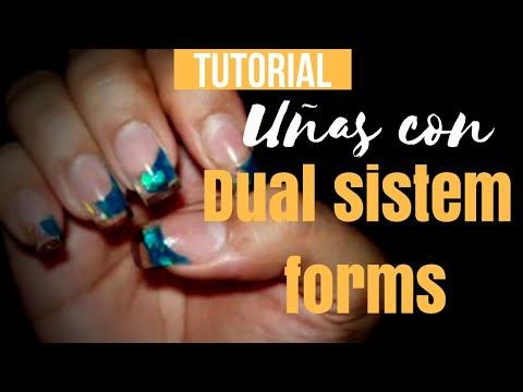 tutorial diseño con las Dual system forms -Blue&animal print-
